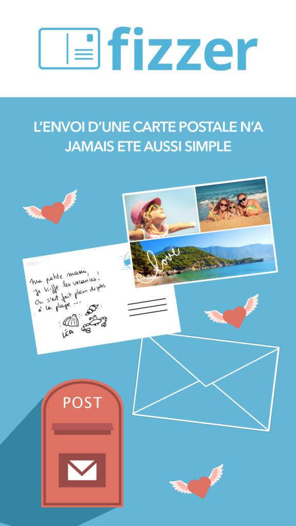 Quel est le delai de reception des cartes postales ?
