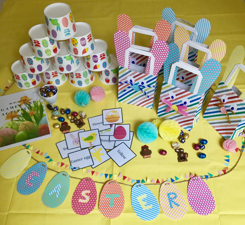 Activités créatives de Pâques, chez Be My Nounou