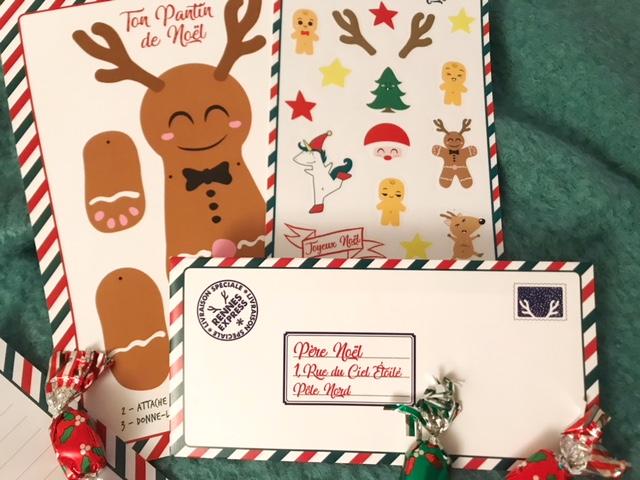 Lettre Noël Ticky-Tacky