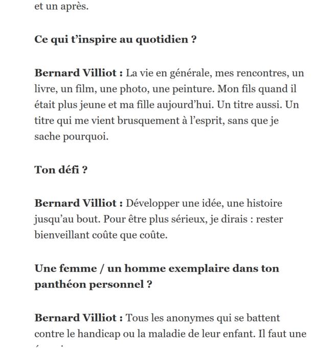 Méphisto de Bernard Villiot