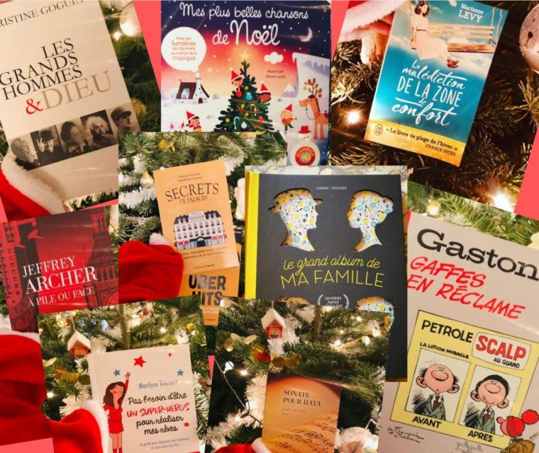 Livres cadeaux Noël 2019